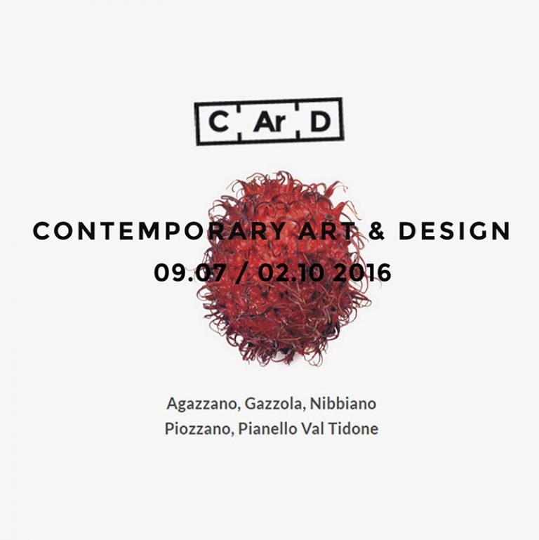 C.Ar.D. Contemporary Art & Design 2016