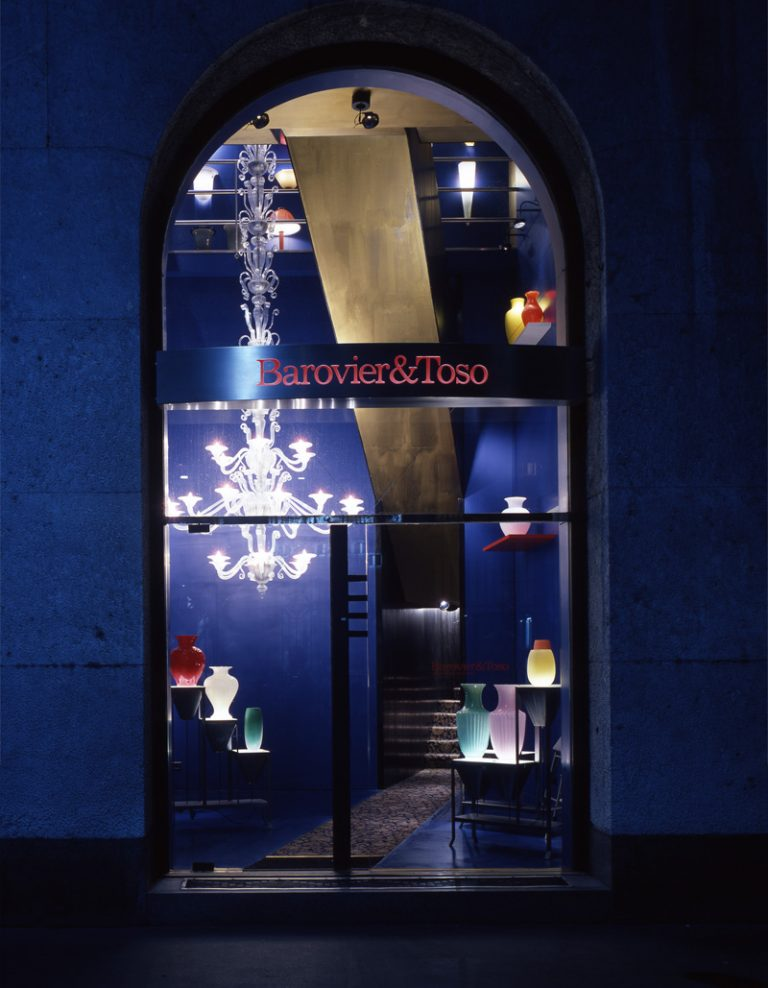 Barovier&Toso Showroom via Montenapoleone
