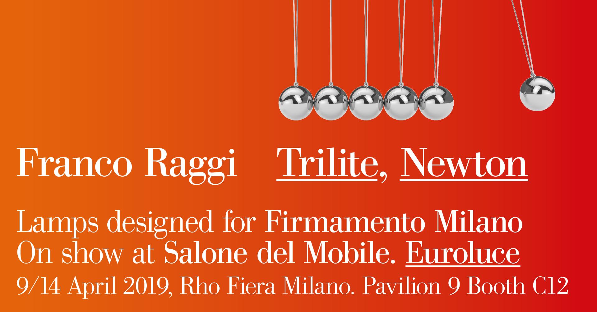 Trilite e Newton @ Euroluce - Salone del Mobile 2019