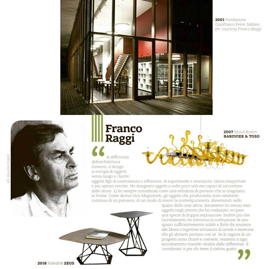 ICON Architects INTERNI Serie Oro 2018